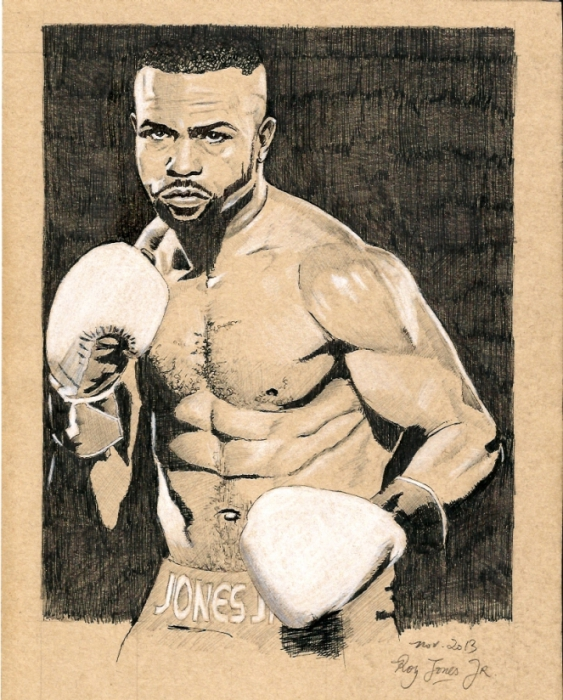 Roy Jones Jr. by brocklesnarsneck